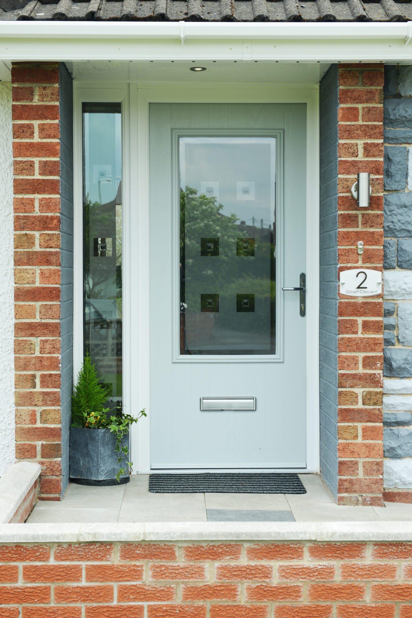 composite door glazed