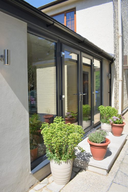 Grey French Doors Belfast