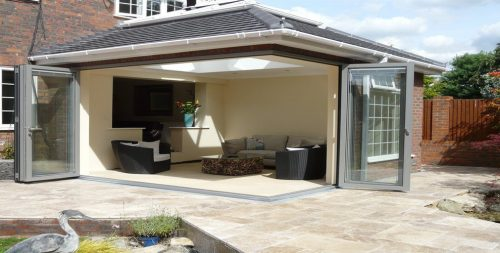large bifolding doors