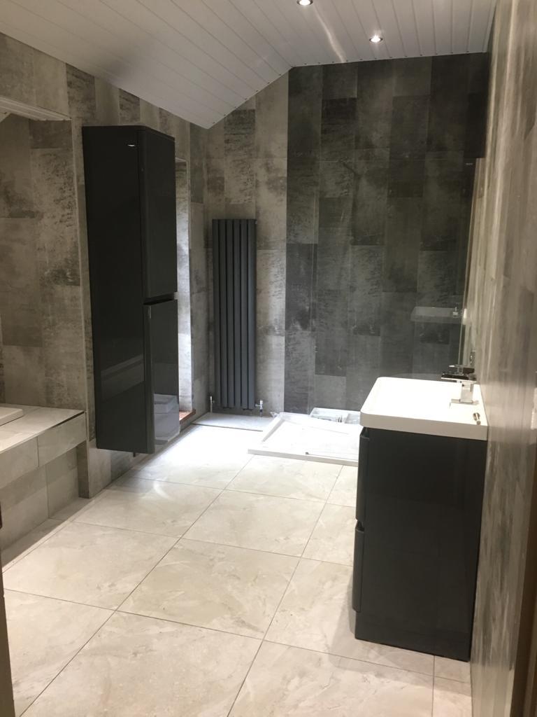 budget designer homeworks  bathroom wall panels