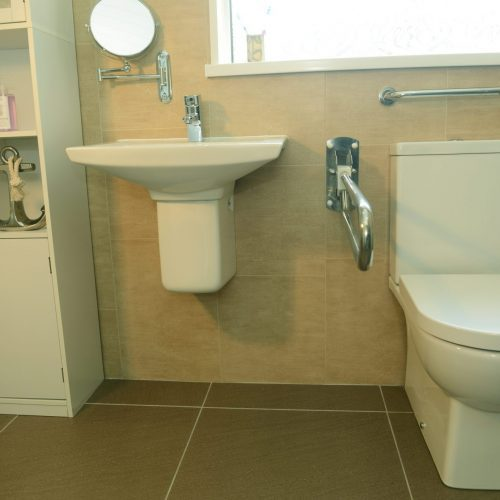 Wetroom Toilet Sink