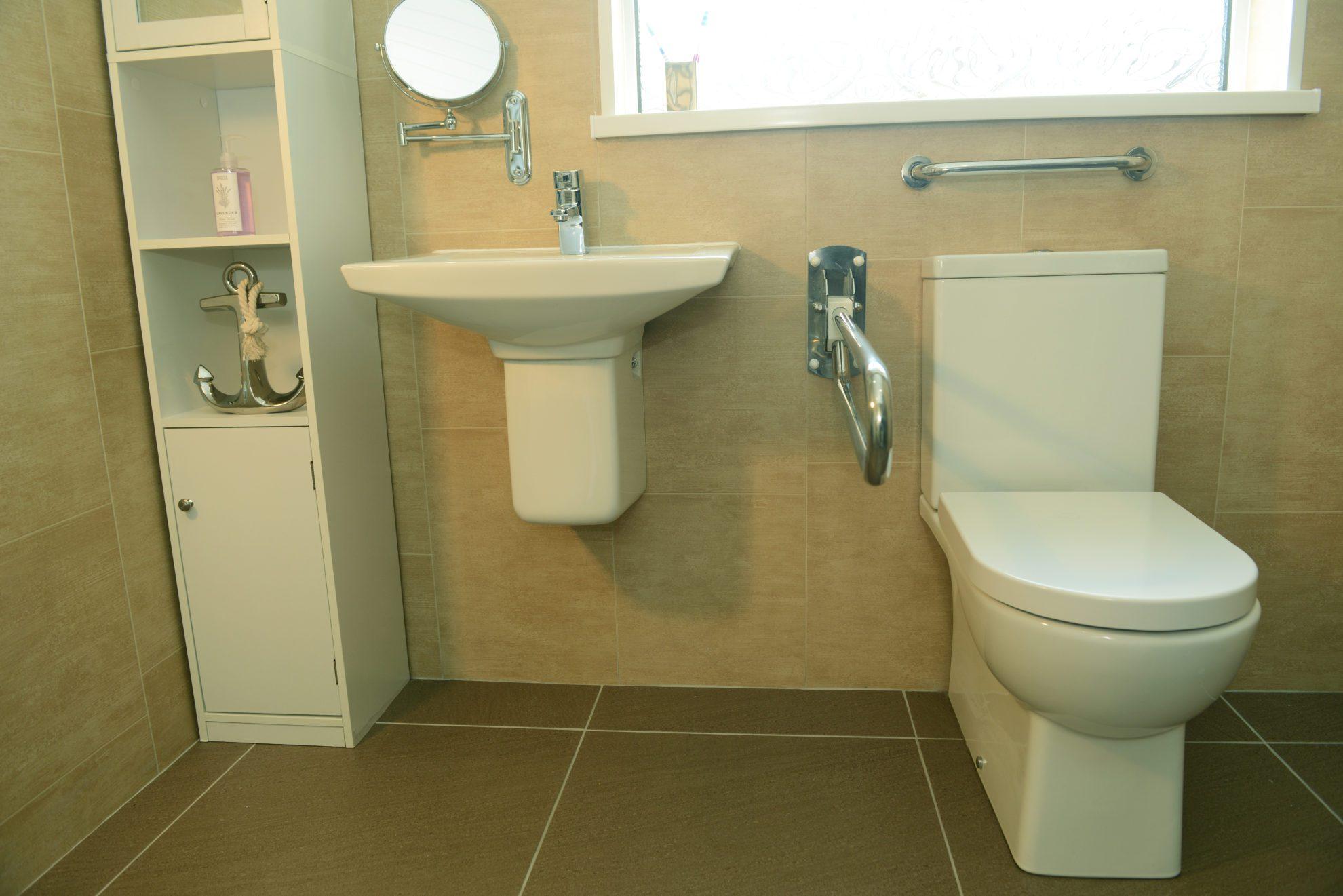 Wetroom Toilet Sink
