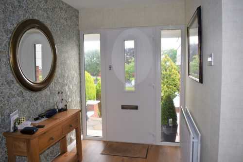 composite door white inside