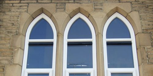 shaped windows