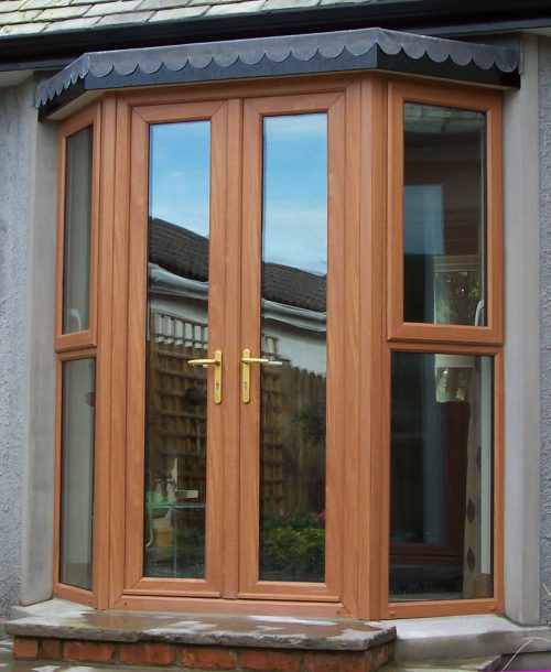 natural french door