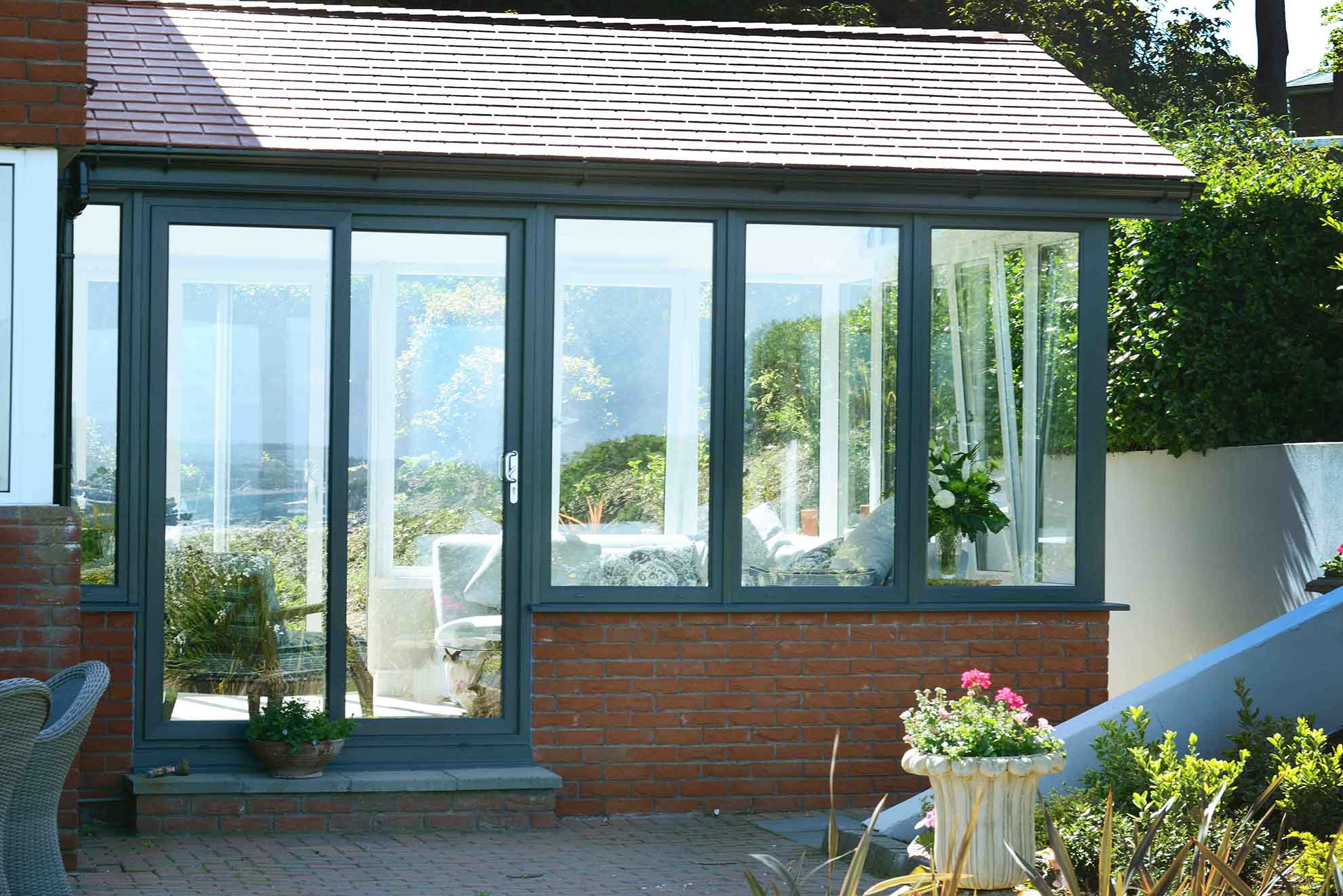 solid roof conservatory extension