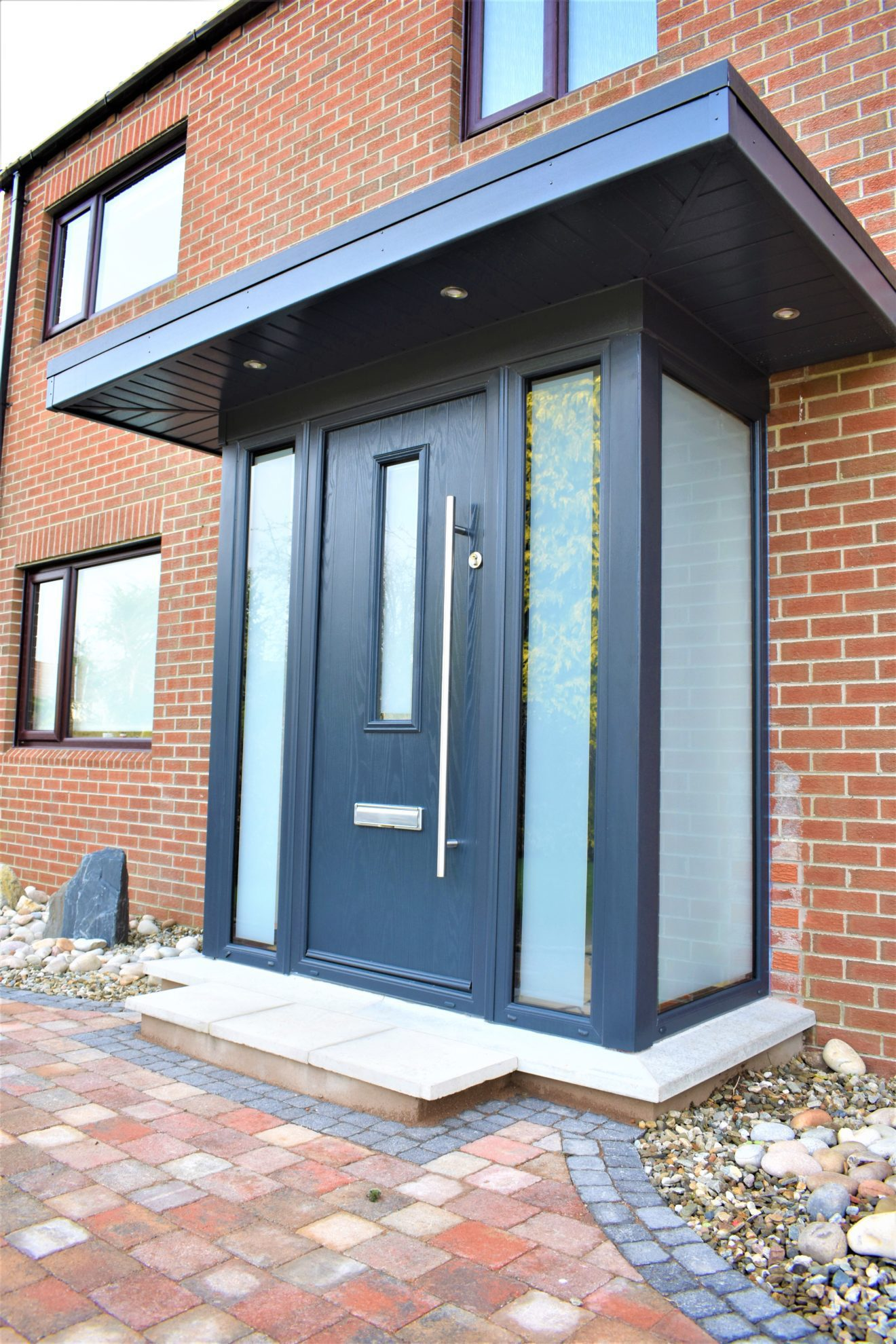 Porch extension grey
