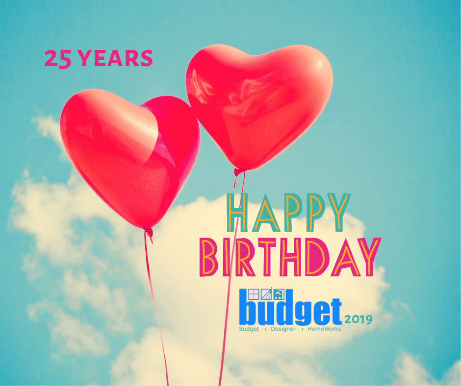 Budget Designer HomeWorks birthday Sale 2019