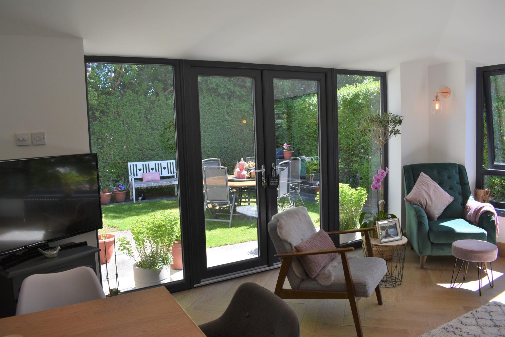 French Doors Open Plan Living