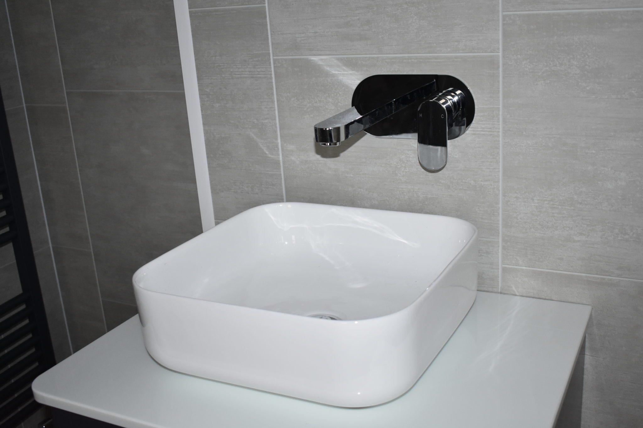 Modern vanity unit