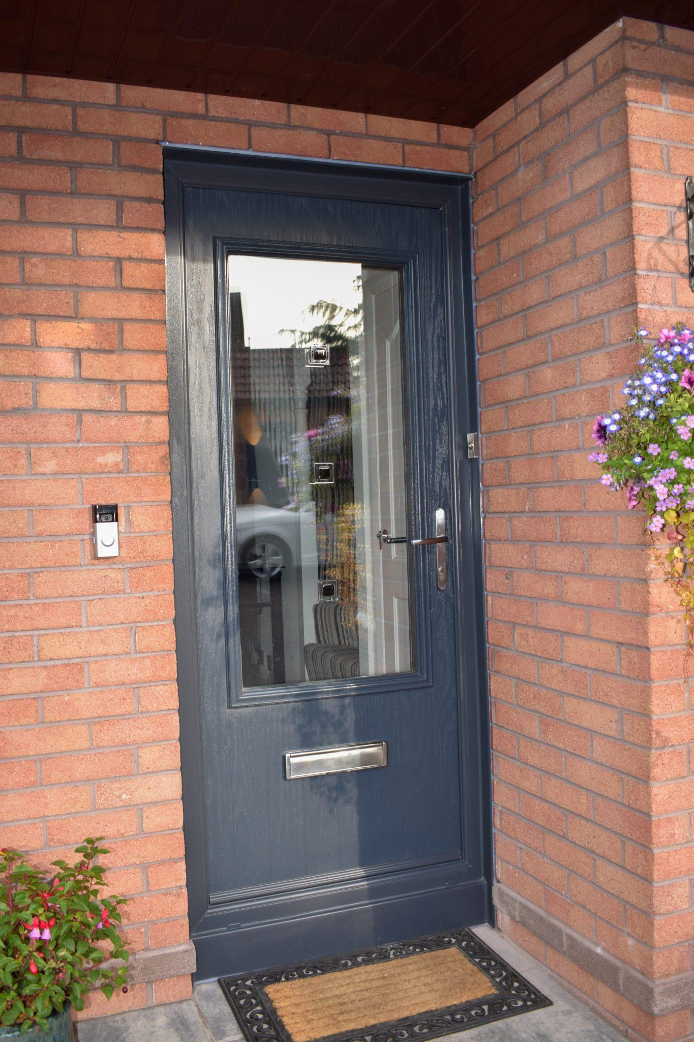 Grey composite door belfast