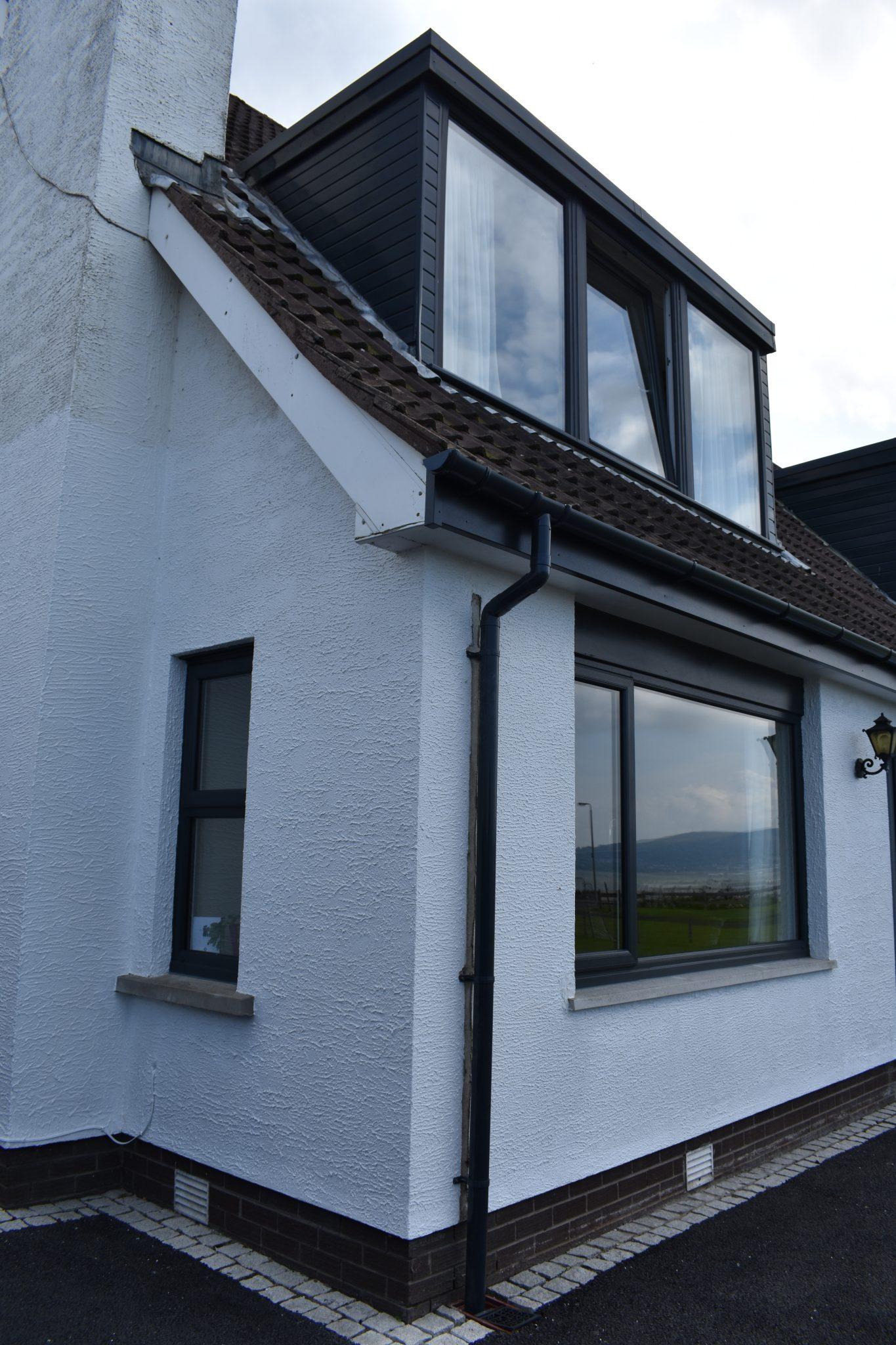 Dormer window and casement window